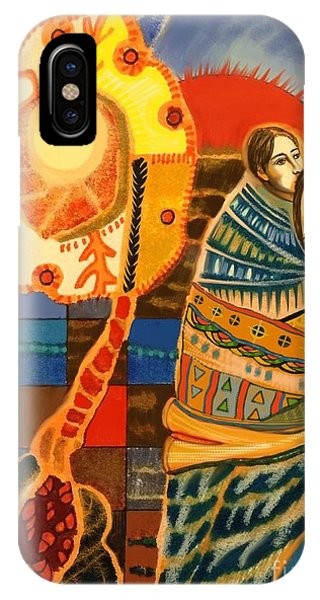 Organic iPhone Case - Lovers by Diane Soule