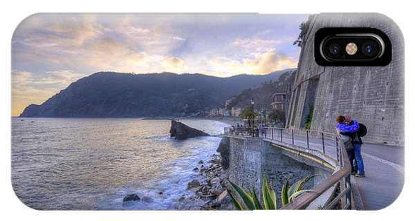 Lovers In Monterosso IPhone Case