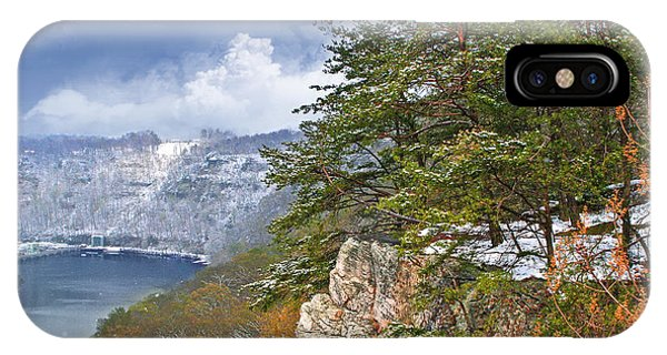Lovers Leap At Hawks Nest IPhone Case