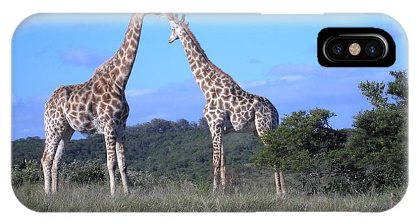 Lovers On Safari IPhone Case