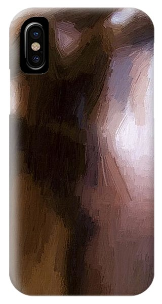 Expressionism iPhone Case - Lovers by Steve K