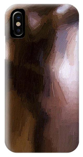 Modern iPhone X Case - Lovers by Steve K