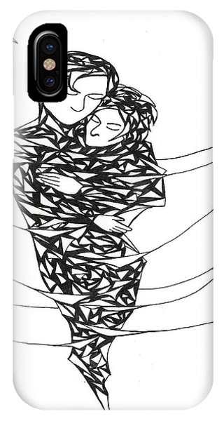Love's Embrace IPhone Case