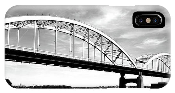 Centennial Bridge iPhone Case - Low Angle View Of A Bridge, Centennial by Panoramic Images