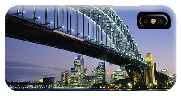 Bridge iPhone Case - Low Angle View Of A Bridge, Sydney by Panoramic Images