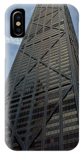 John Hancock Center iPhone Case - Low Angle View Of A Building, Hancock by Panoramic Images