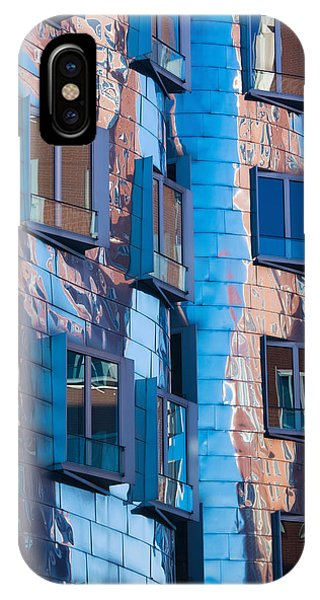 Gehry iPhone Case - Low Angle View Of A Building, Neuer by Panoramic Images