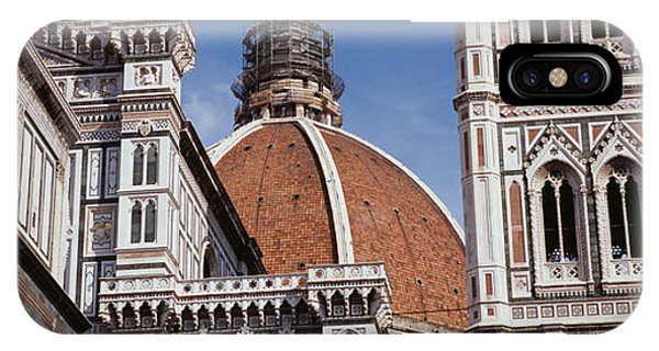 Low Angle View Of A Cathedral, Duomo IPhone Case