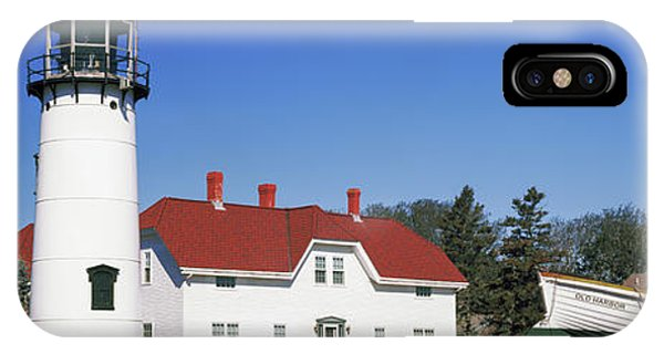 Chatham iPhone Case - Low Angle View Of A Lighthouse, Chatham by Panoramic Images