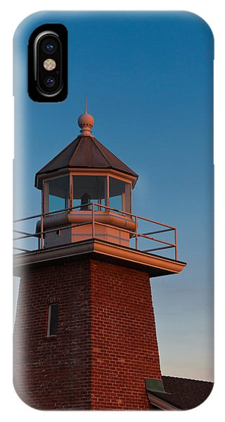 Santa Cruz Surfing iPhone Case - Low Angle View Of A Lighthouse Museum by Panoramic Images