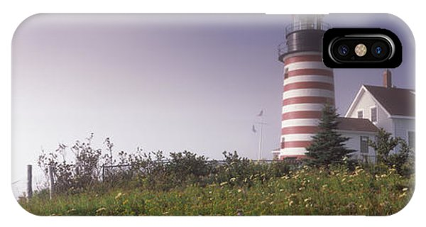 Low Angle View Of A Lighthouse, West IPhone Case