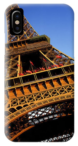 Low Angle View Of A Tower, Eiffel IPhone Case