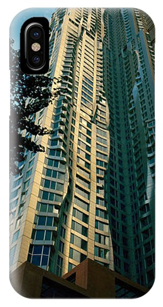 Gehry iPhone Case - Low Angle View Of An Apartment, Wall by Panoramic Images