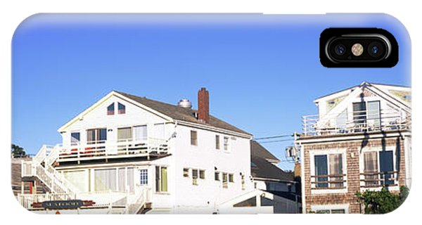 Cape Cod iPhone Case - Low Angle View Of Buildings, Cape Cod by Panoramic Images