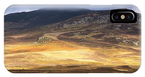 Heather iPhone Case - Low Cloud Over Highlands by Jane Rix