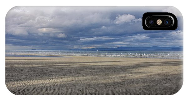 Low Tide Sandscape IPhone Case