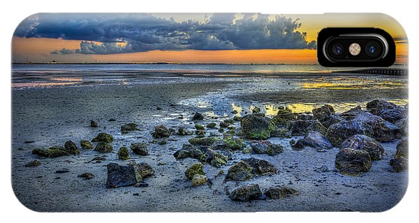 Cypress iPhone Case - Low Tide On The Bay by Marvin Spates