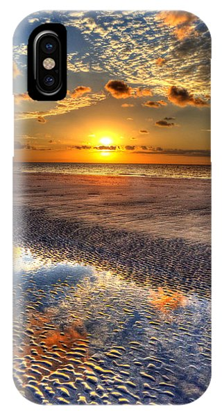 IPhone Case featuring the photograph Low Tide Sunrise On Jekyll Island by Greg and Chrystal Mimbs