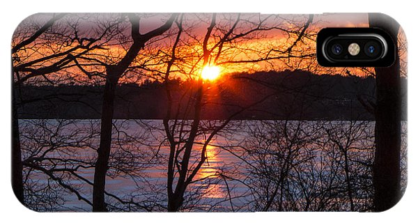 Lowell Holly Sunset IPhone Case