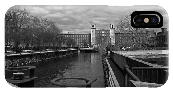 Lowell Ma Architecture Bw IPhone Case