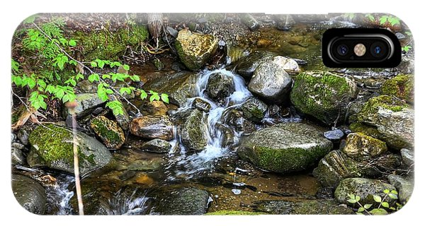 Lowell Mountain Stream IPhone Case
