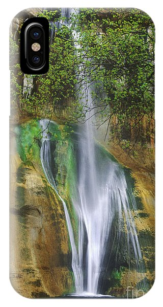 Lower Calf Creek Falls Escalante Grand Staircase National Monument Utah IPhone Case