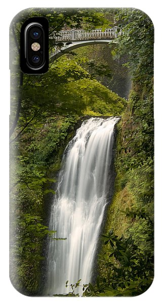 Lower Multnomah Falls IPhone Case