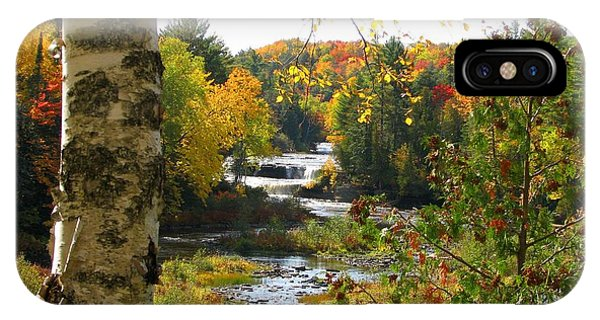 Lower Tahquamenon Falls In October No 1 IPhone Case