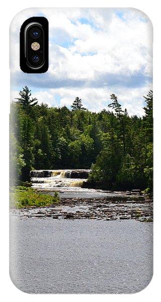 Lower Tahquamenon Falls L IPhone Case