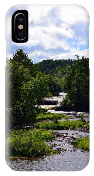 Lower Tahquamenon Falls Ll IPhone Case