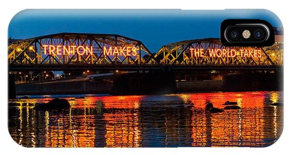Lower Trenton Bridge IPhone Case
