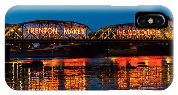 New Jersey iPhone Case - Lower Trenton Bridge by Louis Dallara