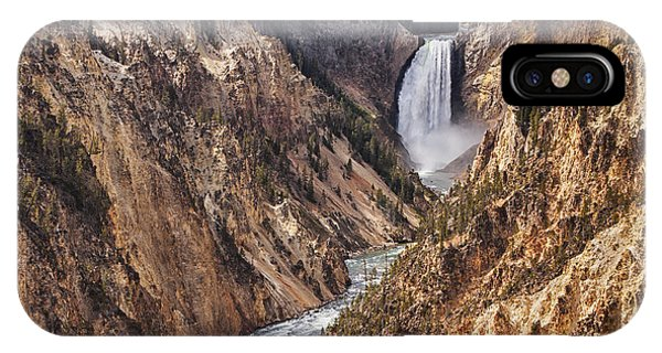 Grand Canyon iPhone Case - Lower Yellowstone Falls by Mark Kiver