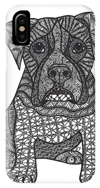 Loyalty- Boxer Dog IPhone Case