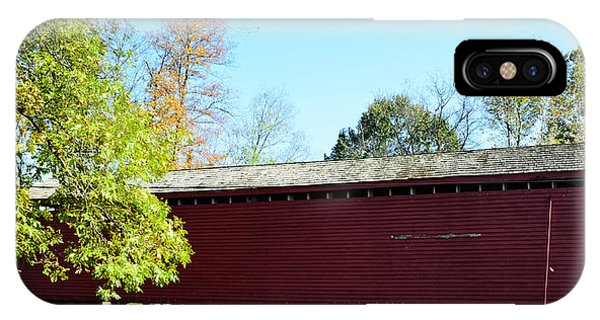 Loy's Station Covered Bridge IPhone Case