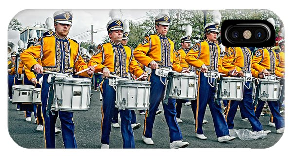 Steve Harrington iPhone Case - Lsu Marching Band by Steve Harrington
