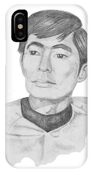 Lt. Sulu IPhone Case
