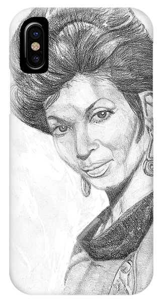 Lt. Uhura IPhone Case