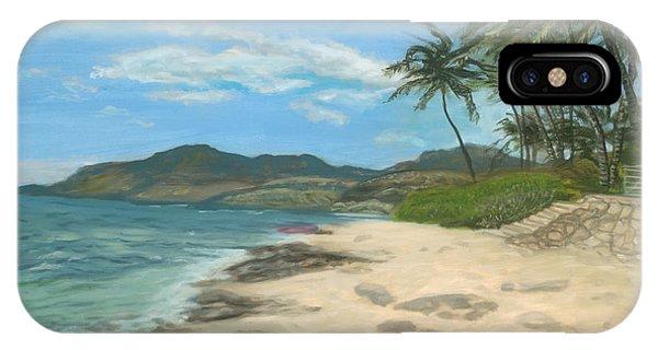 Lualualei Beach IPhone Case
