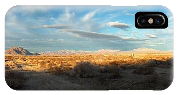 Lucerne Desert Vista IPhone Case