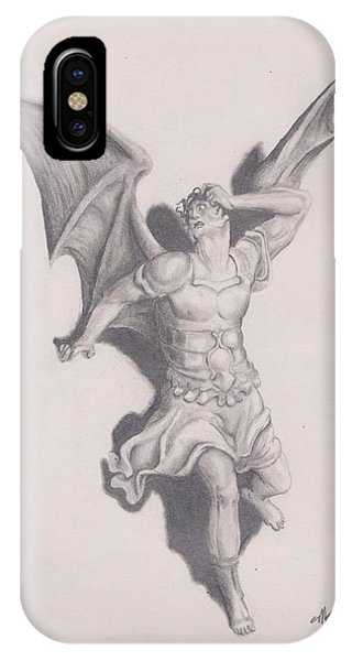 Lucifer Phone Case by Crosson Nipper