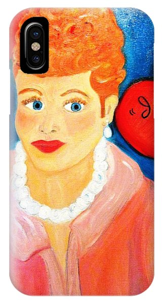 Lucile Ball IPhone Case