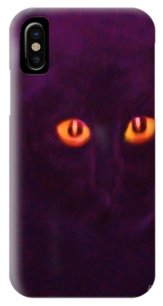 Lucky Black Cat IPhone Case