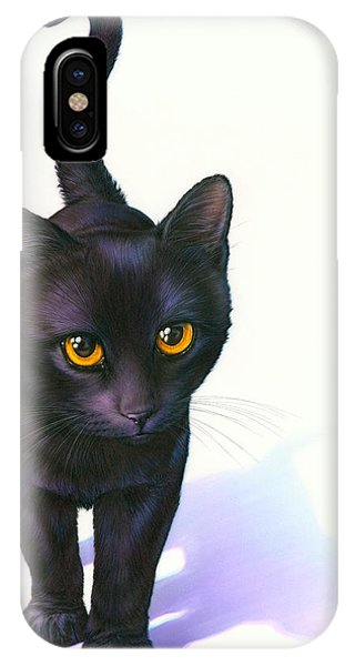 Andrew iPhone Case - Lucky Cat by MGL Meiklejohn Graphics Licensing