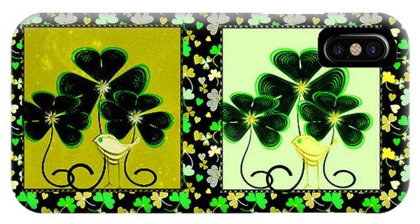 Lucky Irish Yellow Warblers IPhone Case