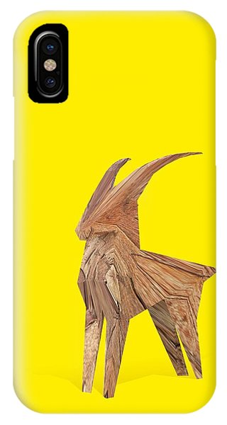 Goat iPhone Case - Lucky Rampant by Pollyanna Illustration