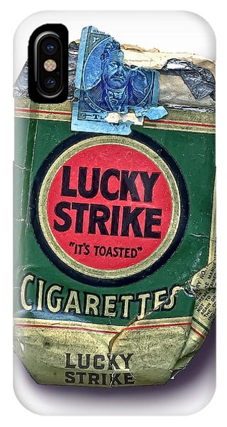 1940's Lucky Strike Green IPhone Case