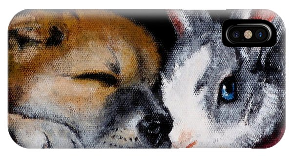 Lucy And Oliver IPhone Case