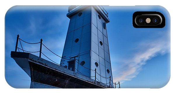 IPhone Case featuring the photograph Ludington Lighthouse by Sebastian Musial