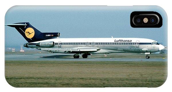 Lufthansa Boeing 727 IPhone Case